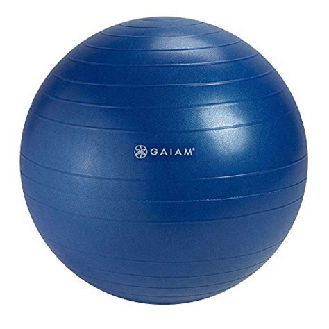 gaiam balance chair replacement suesport 55cm anti burst kit with 3 size
