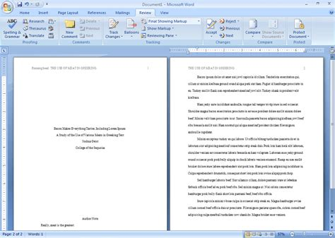 Apa Research Paper Template Word 2010 by How To Format Your Paper In Apa