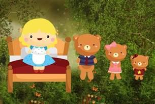 Goldilocks and Three Bears Story