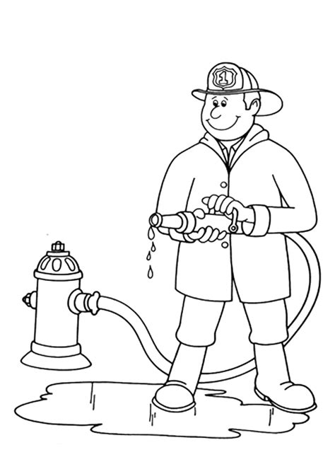 community helpers coloring pages coloringstar