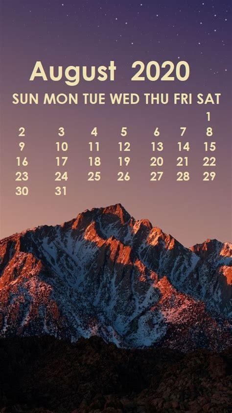 august  iphone wallpaper calendar wallpaper iphone