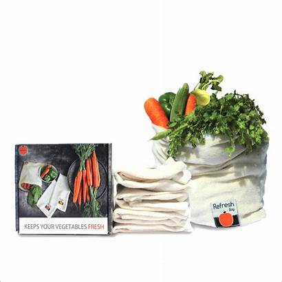 Vegetable Friendly Eco Bag Bags Reusable Fridge