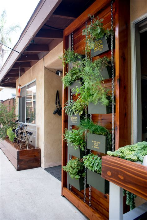 Vertical Herb Garden Design by Ammo Can Vertical Herb Garden Benoit Design