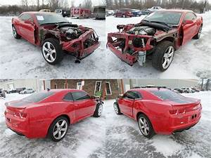 2010 Red Chevrolet Camaro Ss