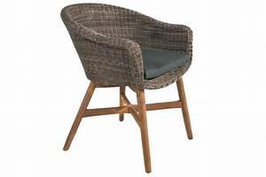 Chaise En Resine : chaise en r sine tress e ronde avec un coussin et des ~ Teatrodelosmanantiales.com Idées de Décoration