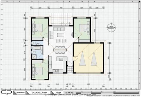 Auto Cad House Plans  House Floor Plans