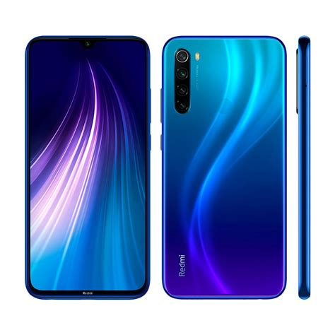 smartphone xiaomi redmi note  azul gb tela de