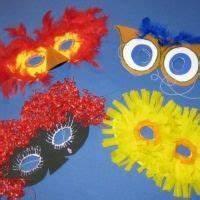 Faschingsdeko Selber Machen : masken selber machen masken einfach aus papier pappe krepp papier wolle glitzer und mehr ~ Markanthonyermac.com Haus und Dekorationen