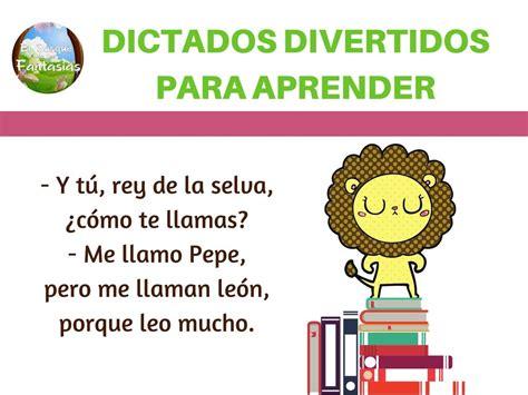 Cuadernillo Para Niños Con Dictados Divertidos Para Practicar