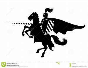 Knight clipart horse logo - Pencil and in color knight ...