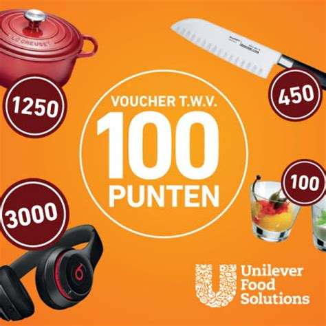 100 pics solution cuisine 100 cook save punten unilever food solutions
