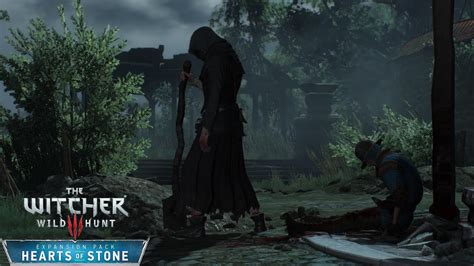witcher  hearts  stone  caretaker death march