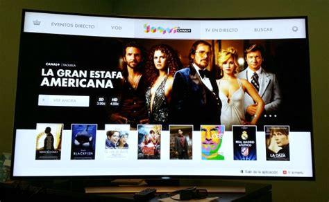 Yomvi, El Videoclub De Canal+ En Las Smart Tv De Samsung