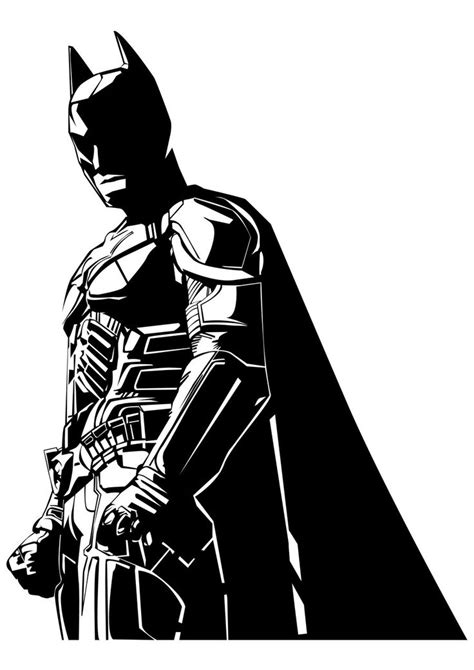 batman clipart black and white batman vector images free vector for free about