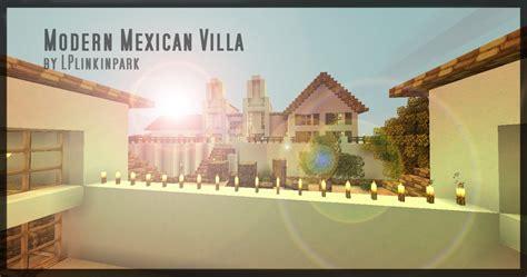 fren modern mexican villa  furniture minecraft project