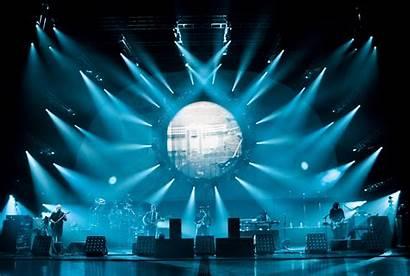 Stage Floyd Concert Rock Pink Concerts Lighting
