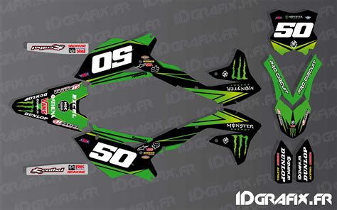 kit deco us ama pro circuit series for kawasaki kx kxf idgrafix