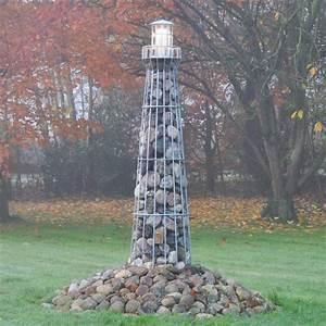 Leuchtturm Für Den Garten : leuchtturm 180cm verzinkt ~ Frokenaadalensverden.com Haus und Dekorationen