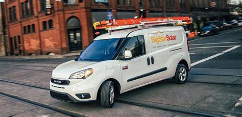 ram promaster  ford transit cargo van competition