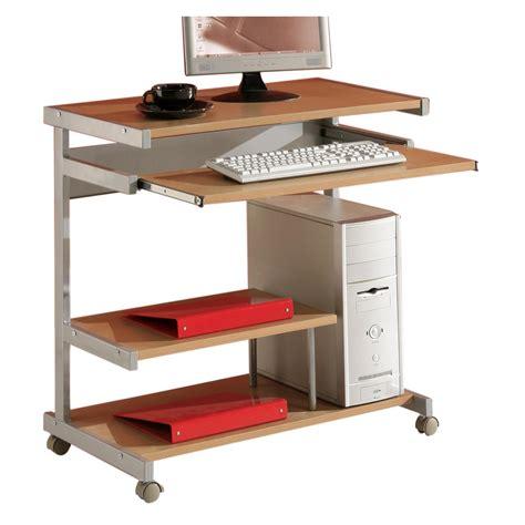 bureau hetre bureau ordinateur joker décor hêtre mobil meubles