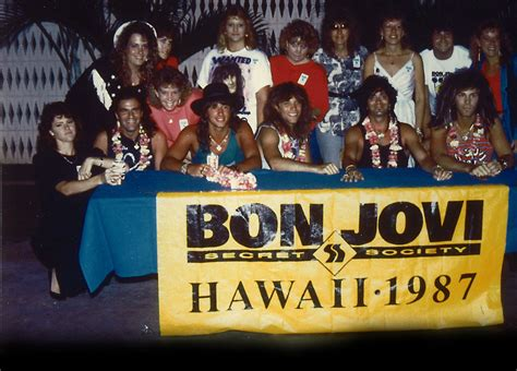 bon jovi fan club fan clubs 39 secret society 39 1986 1988 39 backstage with