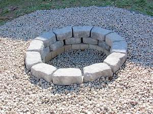 Review, In, Ground, Stone, Fire, Pit