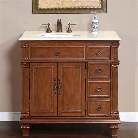 36 vanity with sink 36 quot perfecta pa 132 single sink cabinet bathroom vanity