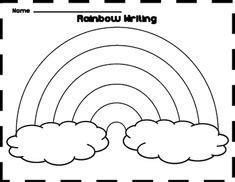 extra large rainbow template rainbow crafts preschool