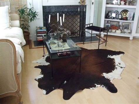 Cowhide Rug Care by Taking Care Of Your New Cow Hide Rug Cowhide Rugs