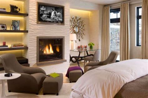 45 Bedrooms With Fireplaces Make Winter A Lovely Season