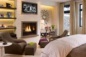 45 bedrooms with fireplaces make winter a lovely season for Bedroom fireplace ideas