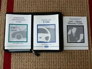 ford   owners manual xl xlt lighting king ranch