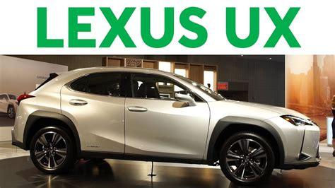york auto show  lexus ux consumer reports