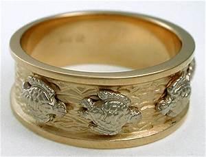 sea turtle wedding ring With turtle wedding ring