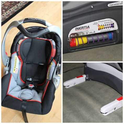 The Inertia Infant Car Seat By Baby Trend {giveaway