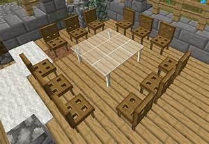no mod furnitures 18 minecraft france With salle a manger minecraft
