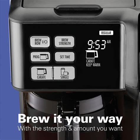 Free shipping on orders over $25 shipped by amazon. Hamilton Beach FlexBrew® 2-Way Coffee Maker (Black Stainless) - 49958