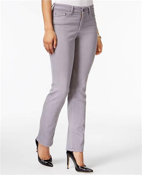 nydj marilyn tummy control straight leg jeans jeans women macys