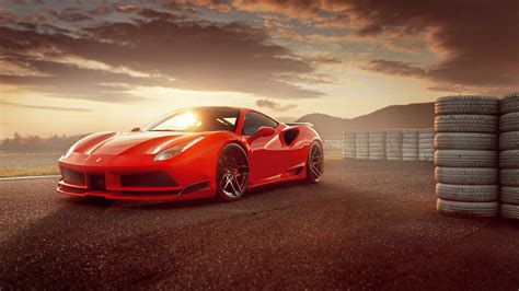 Novitec N Largo Ferrari 488 Gtb Wallpaper