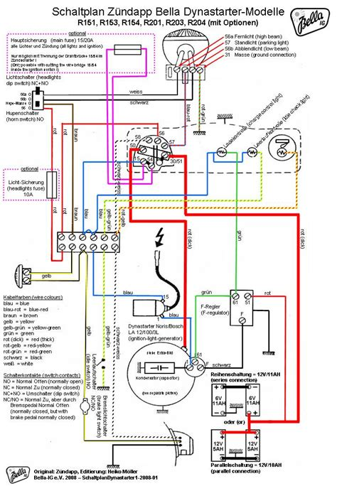 Electrical Wiring Diagram by Bosch Dynastart Wiring Diagram Ourclipart