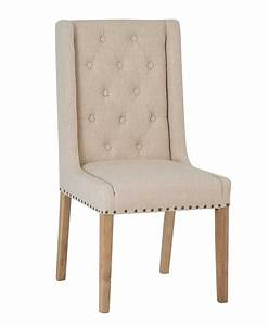 Studded, Button, Back, Dining, Chair