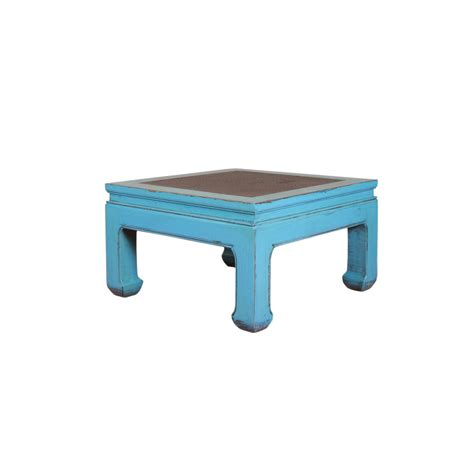 table basse bleu table basse quot d 226 kini quot bleu images et atmosph 232 res