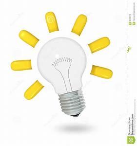 Lightbulb idea stock illustration. Illustration of ...