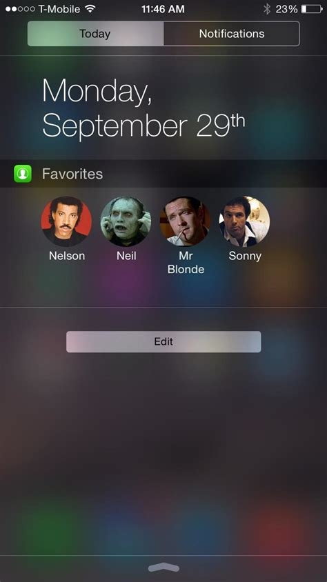 iphone speed dial add speed dial to your iphone s notification center in ios Iphon