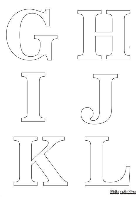 molde de letras imprimir alfabeto completo fonte vazada atividades pinterest template