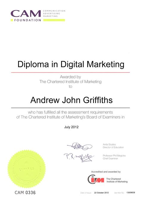 graduate diploma in digital marketing hire me fitness mma uk
