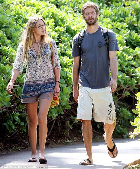 Paul Walker's best friend and ex Aubrianna Atwell