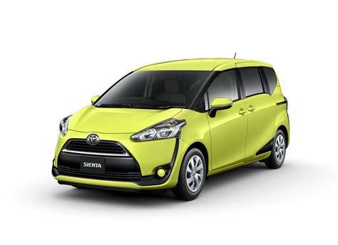 Toyota Sienta by All New Toyota Sienta Compact Minivan Unveiled In Japan