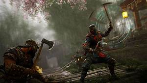 For Honor Shinobi Highlights Gameplay GameSpot