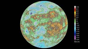 First Global Topographic Model of Mercury | NASA